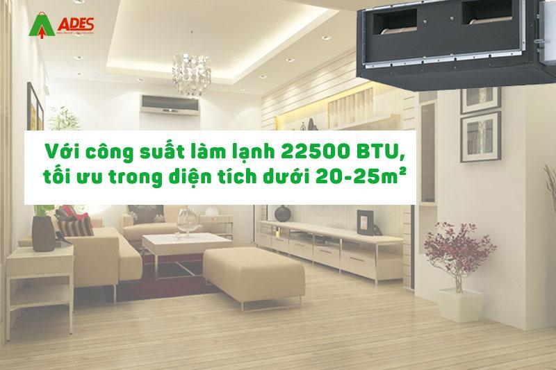 Cong suat manh me 22500 BTU