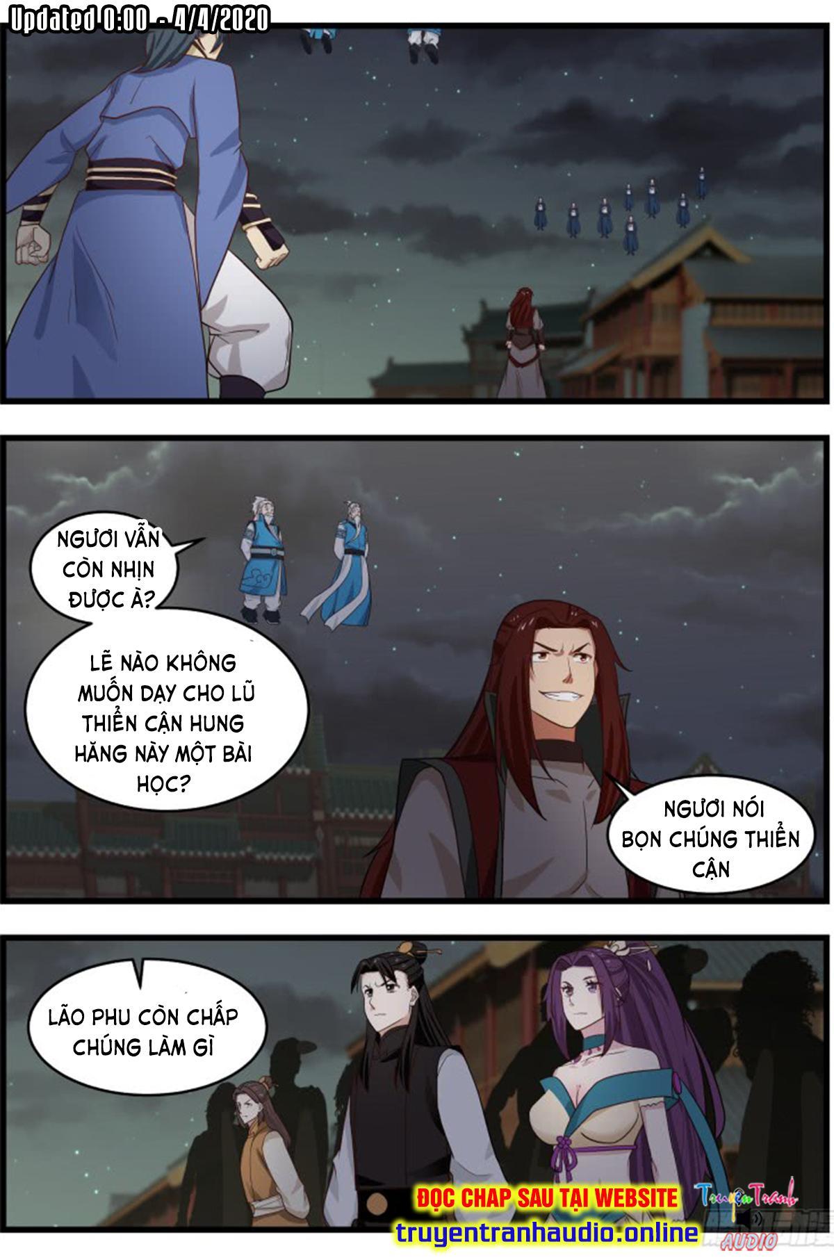 Võ Luyện Đỉnh Phong chap 505 - Trang 2