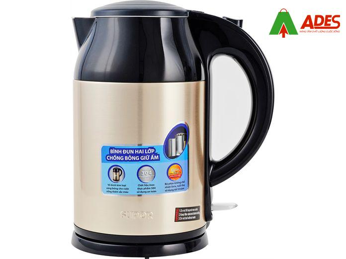 Dung tich 1,5 lit kem cong suat lon