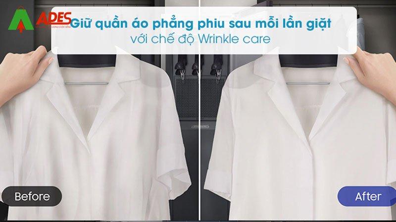 giu quan ao phang phiu che do wrinkle Samsung DF60R8600CG/SV